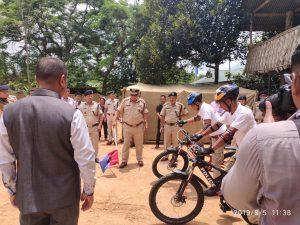 DGP Nagaland inaugurated Jalukie Police Station